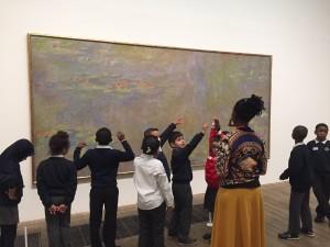 Monet's Waterlilies.